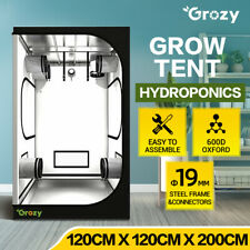 120x120x200CM Hydroponics Grow Tent 100% Highly Reflective Mylar Plant Grow Room