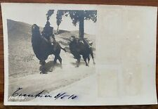 CHINA OLD POSTCARD CHINESE CAMEL TRANSPORT TIENTSIN 1910 !!