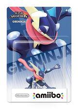 NIB Nintendo Super Smash Bros Amiibo Greninja TRU Exclusive WiiU 3DS US Version