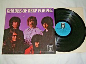 LP Deep Purple Shades of Deep Purple - 1968 # cleaned