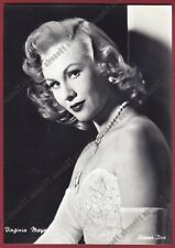VIRGINIA MAYO 17 ATTRICE ACTRESS ACTRICE CINEMA MOVIE USA Cartolina REAL PHOTO