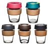 KeepCup Changemakers Brew - Cork Glass Edition Reusable Travel/Coffee Mug