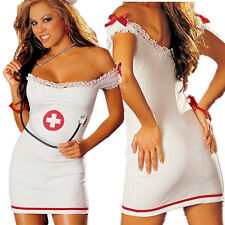 Sex Dress Nurse Lingerie Costume Women Sexy Party Night Time Cosplay Clothing