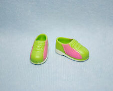 FUN! Pink and Green Bowling Shoes for SKIPPER Genuine BARBIE Shoes