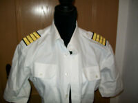Air Berlín Olymp Piloto Capitán Piloto Camiseta Talla 41 Charreteras Rangab