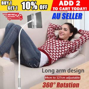 84-127cm 360?Flexible Long Desktop Bed Lazy Arm Holder For Mobile Phone Tablet