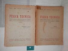 FISICA TECNICA Volume Quarto IMPIANTI Volume + Appendice Enzo Carlevaro Humus di