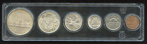 1939 Canada Parliament Complete Silver Coin Set