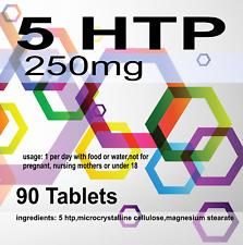90 x 5HTP 200mg 5-HTP Depression Insomniac Anxiety Serotonin