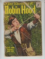Adventures of Robin Hood 7 Fr/F (1.5) 9/57 Magazine Enterprises! Photo cover!