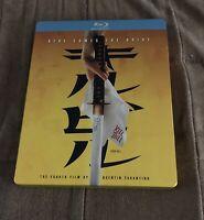 Kill Bill Vol 1 Blu-Ray Steelbook Uma Thurman Quentin Tarantino RARE LIKE NEW