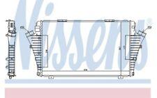 NISSENS Intercooler radiador admisión de aire 96646