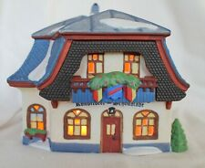 Department 56 , Bakery and Chocolate Shop, Alpine Village 5614-6
