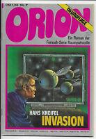 ORION Nr.7 - Z1-2 Science Fiction PABEL Roman zur TV-Serie Raumpatrouille