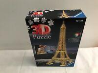 Ravensburger LED Eiffel Tower Night Edition 216 Piece 3D Jigsaw Puzzle
