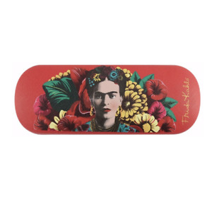 NEW - Colourful Frida Kahlo Floral Glasses/Sunglasses Case Includes Soft Cloth
