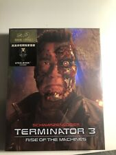Terminator 3   HDZETA Gold Label    Full Slip Steelbook OOP/OOS