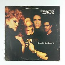 THE CRAMPS Songs The Lord Taught Us SP007 JG LP  1980 Vinyl VG+ nr++ Cover Fair