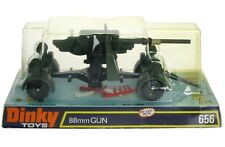 Vintage 1974 Dinky Meccano 656 WWII German 88mm Flak Gun Mint w/Box MIB