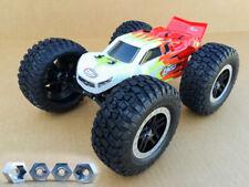 Aluminum Losi Mini-B T 2.0 Wheel Hex Adapters 8mm-12mm Big Tire Conversion 6mm