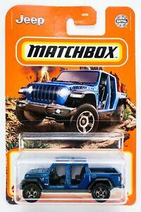 2021 Matchbox #36 '20 Jeep® Gladiator HYDRO BLUE PEARL / MOC