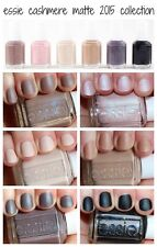Essie Nail Polish Cashmere Matte Collection - Complete set of 6 - Full Size