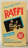 Raffi VHS Tape Children's Video Singable Songs