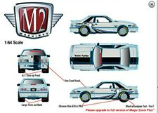 M2 Machines 1987 Ford Mustang GT Fox Body 5.0 Hobby Exclusive Limited Edition