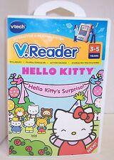 "NEW! V.Reader ""Hello Kitty"" Interactive E-Reading Cartridge : VTech {2864}"