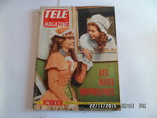 TELE MAGAZINE N°318 26/11/1961 MARIANNE LECENE ANNE DOAT     I69