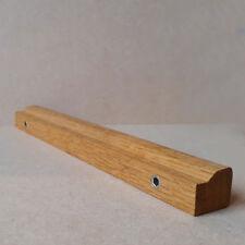 Wooden Door Handles Solid Oak Long Bar Handles Cupboards Cabinet Drawers UK Made