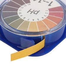 5m Laboratory pH Indicator Test Strip 1-14 Paper Litmus Tester Alkaline Acid