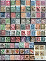 Deutschland 1921 - 1952 -- 180 stück Briefmarken