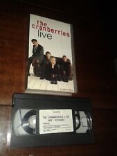"THE CRANBERRIES ""LIVE"" ULTRA RARE SPANISH VHS / DOLORES O ' RIORDAN 1995 ZOMBIE"