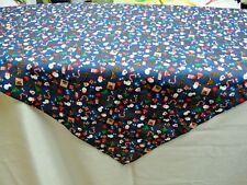 Mitteldecke Tischläufer Tischdecke 89x89cm blau rot weiß grün bunt Weihnachten