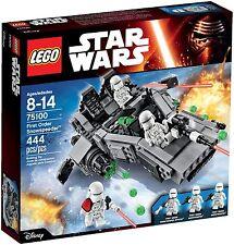 Lego Star Wars - 75100 - First Order Snowspeeder - NEUF et Scellé