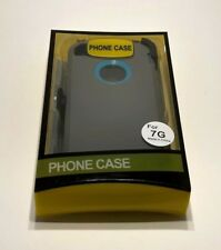 For Apple iPhone 7 Case Cover (Belt Clip fits Otterbox Defender)Gray-c