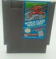 World Class Track Meet - NES (Nintendo Entertainment System, 1985) game only