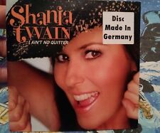 SHANIA TWAIN I Ain't No Quitter RARE GERMANY PROMO CD SINGLE WHOSE BED BOOTS