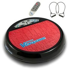 Vibrapower Disc 2 Limited Edition New Year, Resistance Bands & Remote - RED