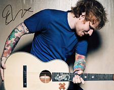 ED SHEERAN SIGNED AUTOGRAPHED REPRINT 8X10 COLOR PHOTO POSTER MUSIC SHAPE OF YOU