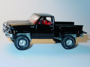 1980 80 CHEVY CHEVROLET 4X4 STEPSIDE PICKUP MUSCLE TRUCK -Black
