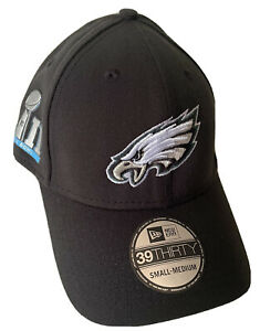 NEW ERA PHILADELPHIA EAGLES S/M HAT $32 SUPER BOWL LII (52) DS TEAM ISSUE NFL