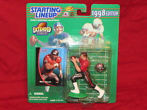 Mike Alstott Starting Lineup 1998 NFL Extended Series Figure Mint from Case