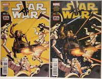 Star Wars #3 (2015) Marvel Key Issue Comic Book 2nd & 3rd Printing Variant Nice