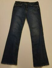 Lucky Brand Women's Classic Rider Jeans - Lightly Distressed Size 16/33