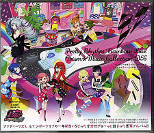 PRETTY RHYTHM RAINBOW LIVE PRISM MUSIC COLLECTION DX-JAPAN 2 CD+DVD J50