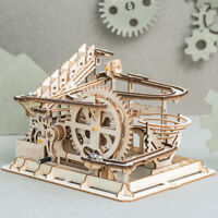 ROKR 3D Wooden Puzzle Laser Cut Wooden Marble Run Kits Toy Gift for Adults Kids
