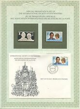FIRST DAY OF ISSUE / 1° JOUR / STAMP / TIMBRE ARGENT NEW ZELAND LE MARIAGE ROYAL