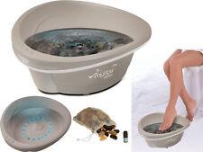 Homedics MYSPA AROMA Pebble di Foot Spa Bagno Spiaggia i ciottoli Massaggiatore termico-fb100-gb